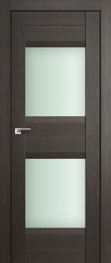 Межкомнатная дверь ПрофильДорс 61X Грей мелинга стекло матовое