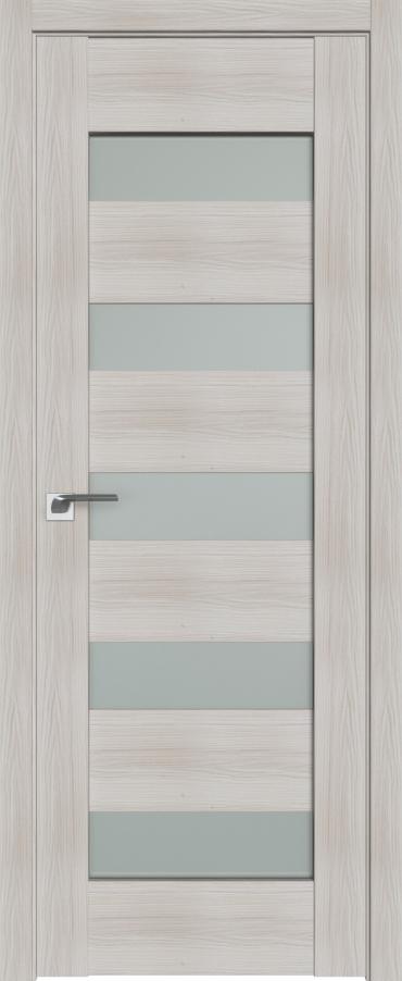 Межкомнатная дверь ProfilDoors 29X Эш Вайт Мелинга стекло матовое