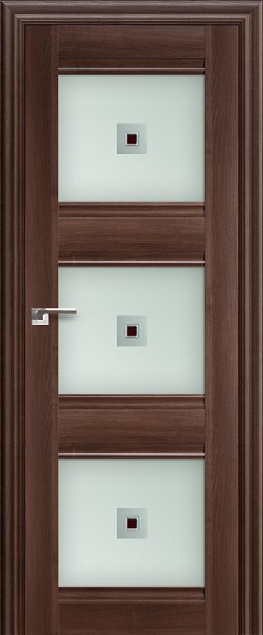 Межкомнатная дверь ПрофильДорс 4X Орех сиена со стеклом