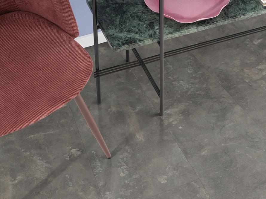 Ламинат Egger Design Large 7.5/33 Камень Металл Антрацит EPD043