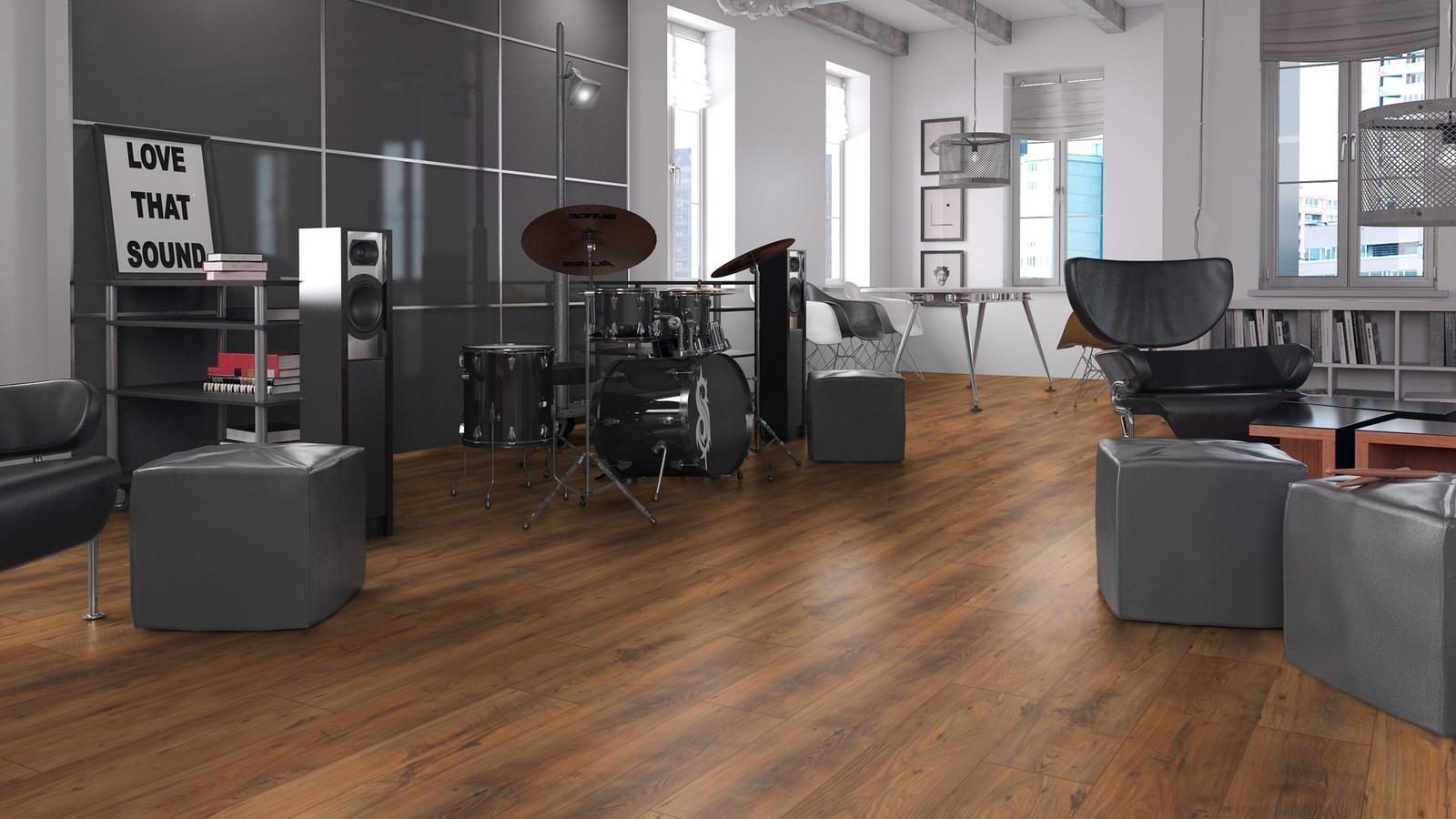 Ламинат Kronopol Sound Aurum Орех Blues D3342