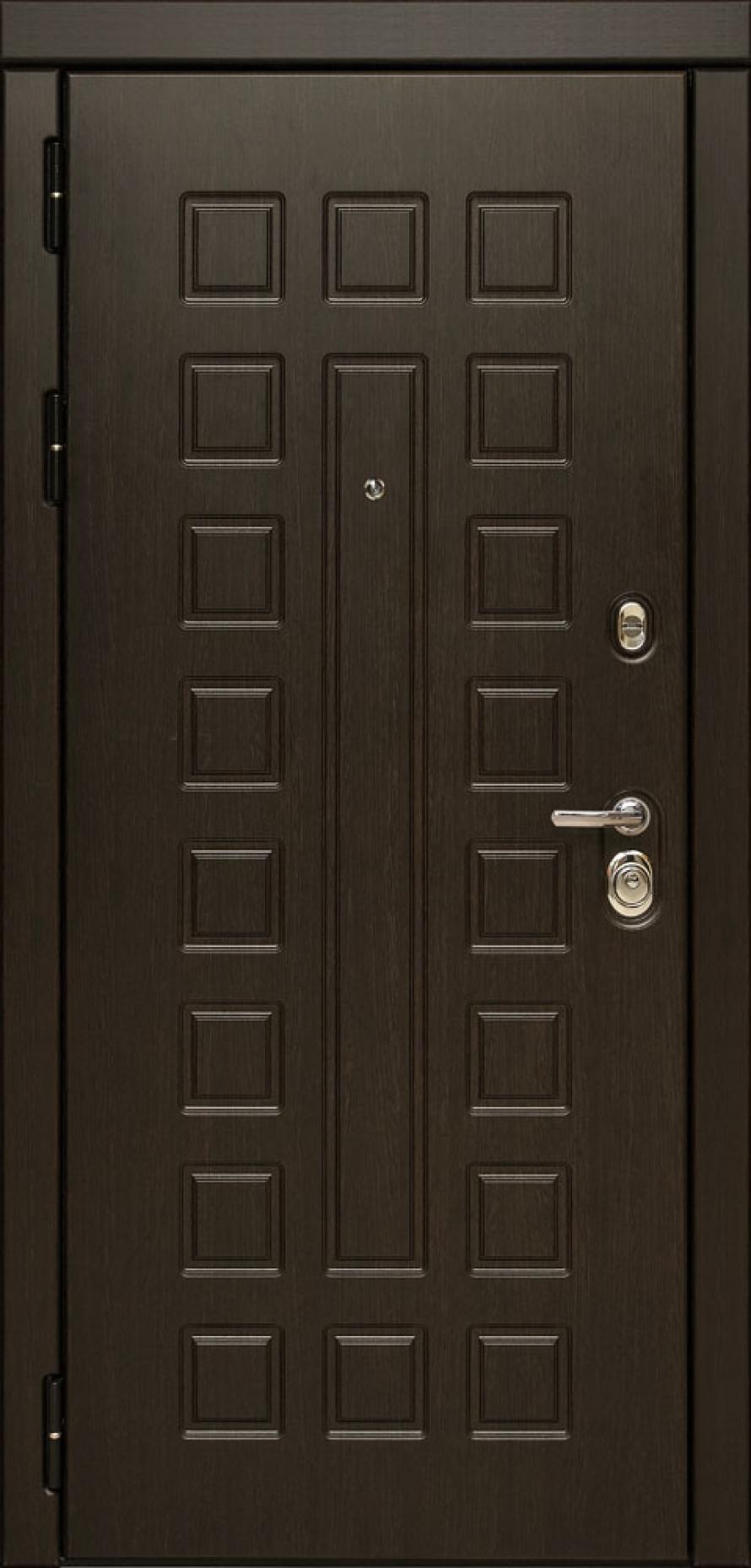 Металлическая входная дверь Сударь МД 30 с зеркалом