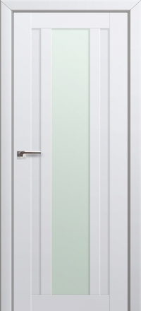 Межкомнатная дверь ПрофильДорс 16U Аляска стекло матовое
