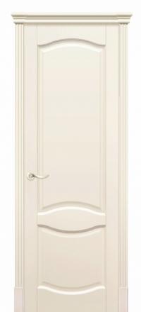 Межкомнатная дверь Дариано Соренто Эмаль слоновая кость глухая