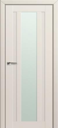 Межкомнатная дверь ПрофильДорс 16U Магнолия Сатинат стекло матовое
