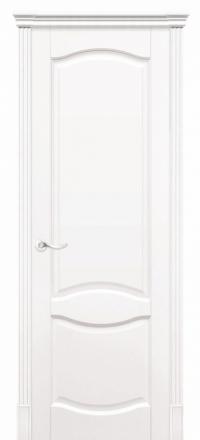 Межкомнатная дверь Дариано Соренто Эмаль белая глухая