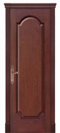Межкомнатная дверь Дариано Женева F Красное дерево глухая