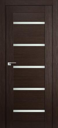 Межкомнатная дверь ПрофильДорс 7X Венге мелинга стекло матовое