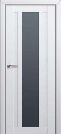 Межкомнатная дверь ПрофильДорс 16U Аляска стекло графит