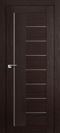 Межкомнатная дверь ПрофильДорс 17X Венге мелинга стекло матовое