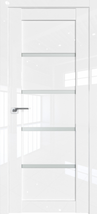 Межкомнатная дверь ProfilDoors 2.09L Белый люкс стекло матовое