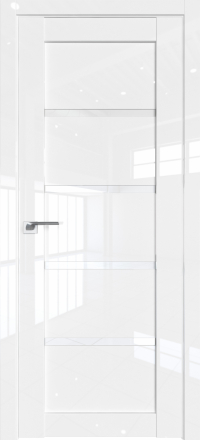 Межкомнатная дверь ProfilDoors 2.09L Белый люкс стекло триплекс белый