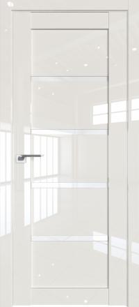 Межкомнатная дверь ProfilDoors 2.09L Магнолия люкс стекло триплекс белый
