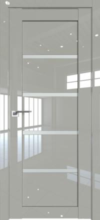 Межкомнатная дверь ProfilDoors 2.09L Галька люкс стекло матовое