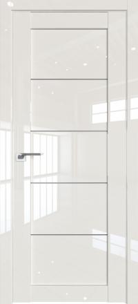Межкомнатная дверь ProfilDoors 2.11L Магнолия люкс стекло графит