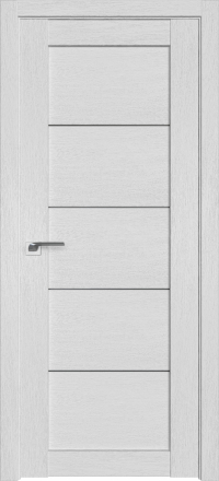 Межкомнатная дверь ПрофильДорс 2.11XN Монблан стекло графит
