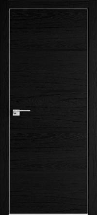 Межкомнатная дверь ProfilDoors 20ZN Дарк браун стекло черный лак