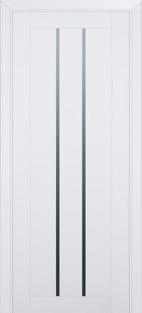 Межкомнатная дверь ПрофильДорс 49U Аляска стекло графит