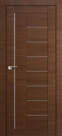 Межкомнатная дверь ПрофильДорс 17X Малага черри кроскут стекло матовое