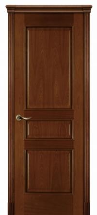Межкомнатная дверь Дариано Чикаго Красное дерево глухая