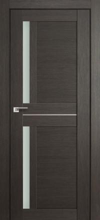 Межкомнатная дверь ПрофильДорс 19X Грей мелинга стекло матовое