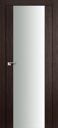 Межкомнатная дверь ПрофильДорс 8X Венге мелинга белый триплекс
