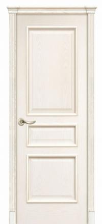 Межкомнатная дверь Дариано Чикаго Ясень бланко глухая
