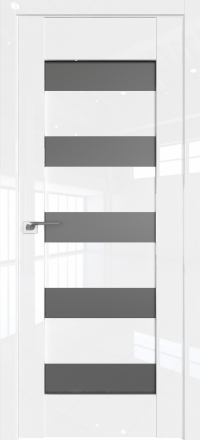 Межкомнатная дверь ProfilDoors 29L Белый люкс стекло графит