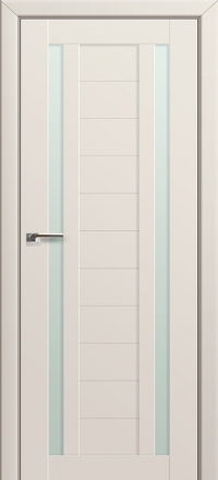 Межкомнатная дверь ПрофильДорс 15U Магнолия Сатинат стекло матовое