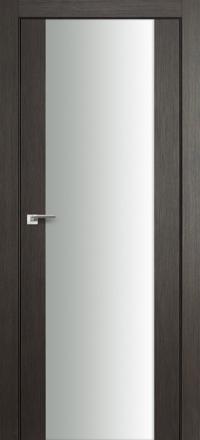 Межкомнатная дверь ПрофильДорс 8X Грей мелинга белый триплекс