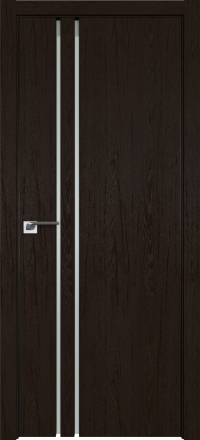 Межкомнатная дверь ProfilDoors 35ZN Дарк браун стекло матовое