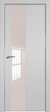 Межкомнатная дверь ProfilDoors 5E Манхэттен стекло перламутровый лак