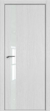 Межкомнатная дверь ProfilDoors 6ZN Монблан стекло белое