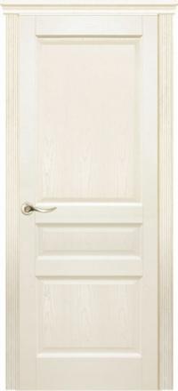 Межкомнатная дверь Дариано Бостон Ясень карамель глухая