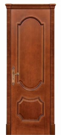 Межкомнатная дверь Дариано Женева Черешня глухая