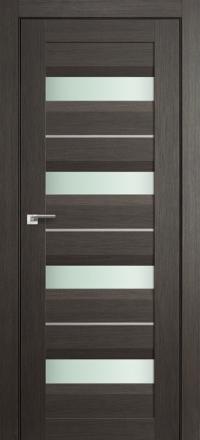 Межкомнатная дверь ПрофильДорс 60X Грей мелинга стекло матовое