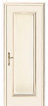 Межкомнатная дверь Дариано Родос Слоновая кость глухая