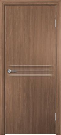 Межкомнатная дверь Содружество экошпон G-21 Орех королевский