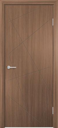 Межкомнатная дверь Содружество экошпон G-23 Орех королевский