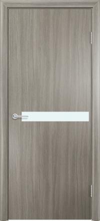 Межкомнатная дверь Содружество экошпон G-2 Дуб дымчатый