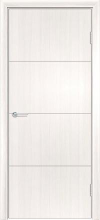 Межкомнатная дверь Содружество экошпон G-33 Лиственница беленая