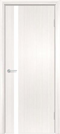 Межкомнатная дверь Содружество экошпон G-7 Лиственница беленая