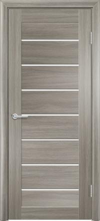 Межкомнатная дверь Содружество царговая (ПВХ) S-18 Дуб дымчатый