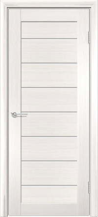 Межкомнатная дверь Содружество царговая (ПВХ) S-18 Лиственница беленая