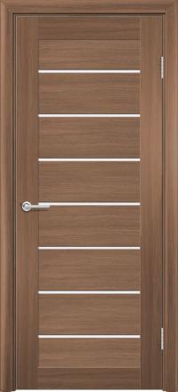 Межкомнатная дверь Содружество царговая (ПВХ) S-18 Орех королевский
