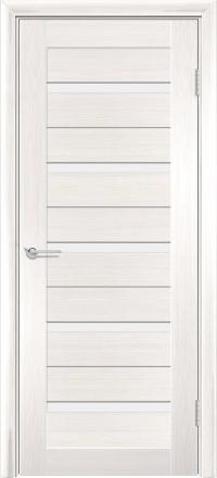 Межкомнатная дверь Содружество царговая (ПВХ) S-1 Лиственница беленая