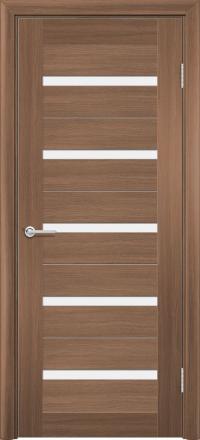 Межкомнатная дверь Содружество царговая (ПВХ) S-1 Орех королевский