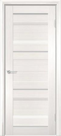 Межкомнатная дверь Содружество царговая (ПВХ) S-20 Лиственница беленая глухая