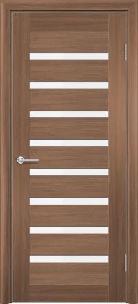 Межкомнатная дверь Содружество царговая (ПВХ) S-2 Орех королевский