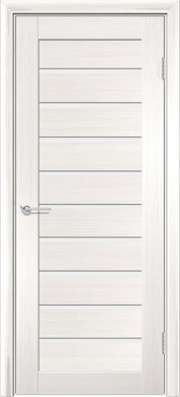 Межкомнатная дверь Содружество царговая (ПВХ) S-8 Лиственница беленая